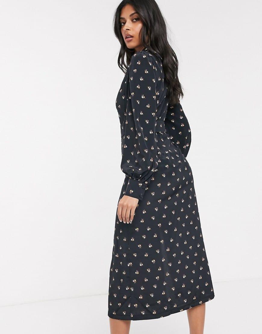 FASHION UNION Belted Waist Shirt Dress