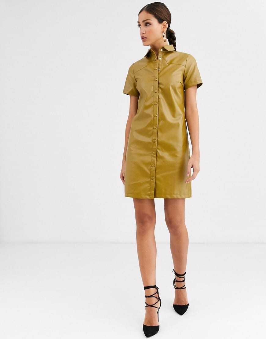 GLAMOROUS Tall Classic Mini Shirt Dress