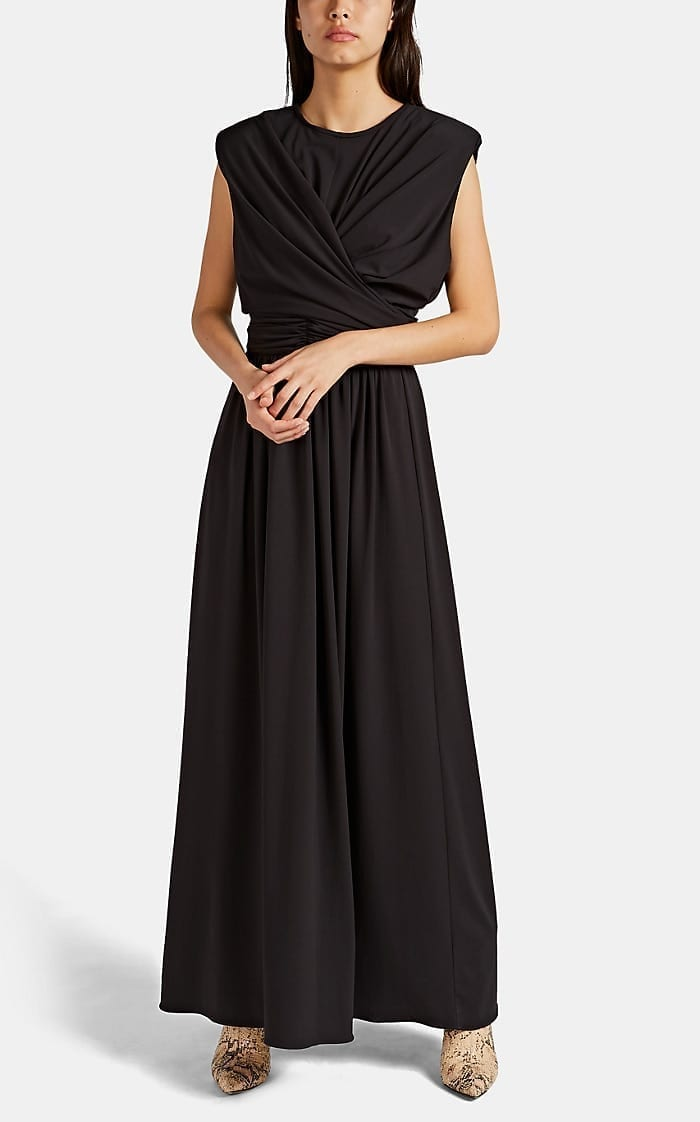 ISABEL MARANT Guciene Draped Jersey Gown