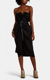 MAISON MARGIELA Mixed-Media Mock-Trouser Dress