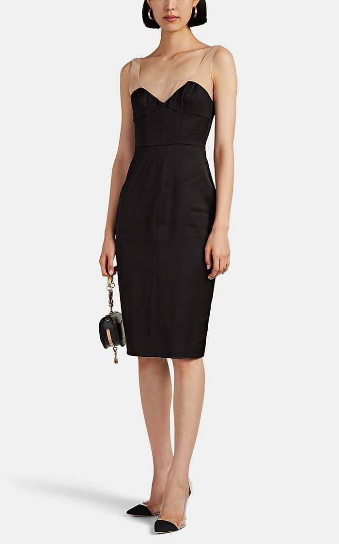 MANNING CARTELL Source Code Satin Bustier Dress