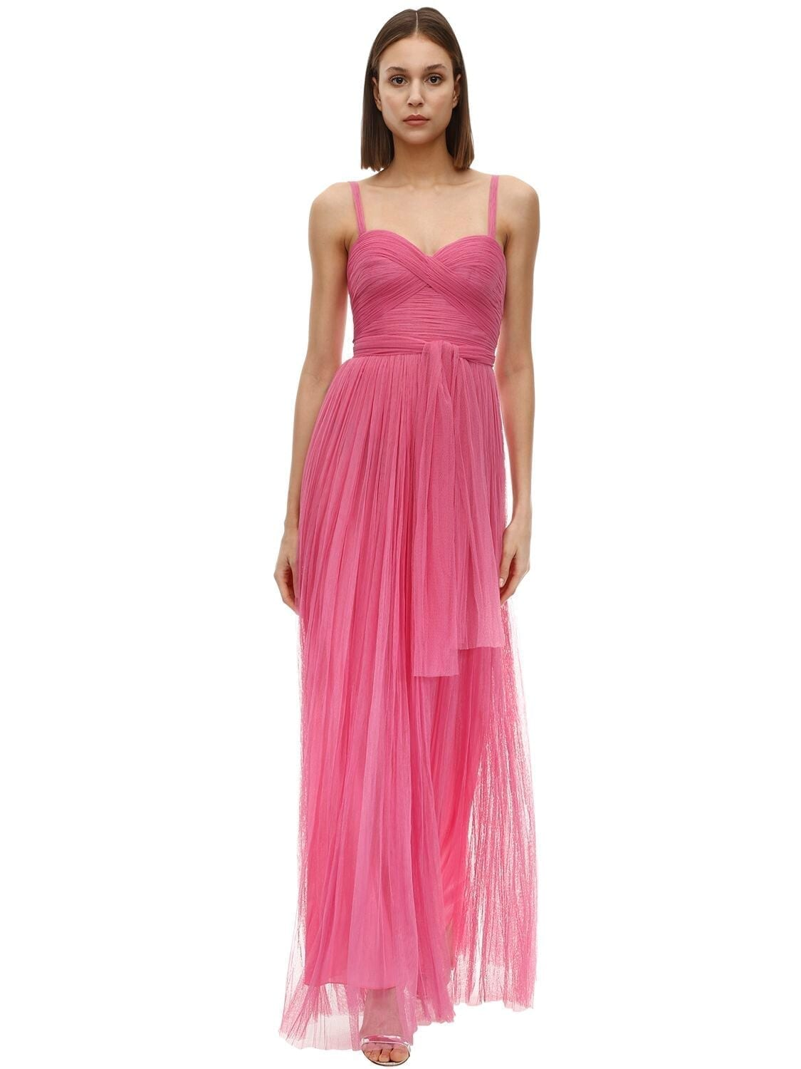 MARIA LUCIA HOHAN Estel Tulle Long Dress
