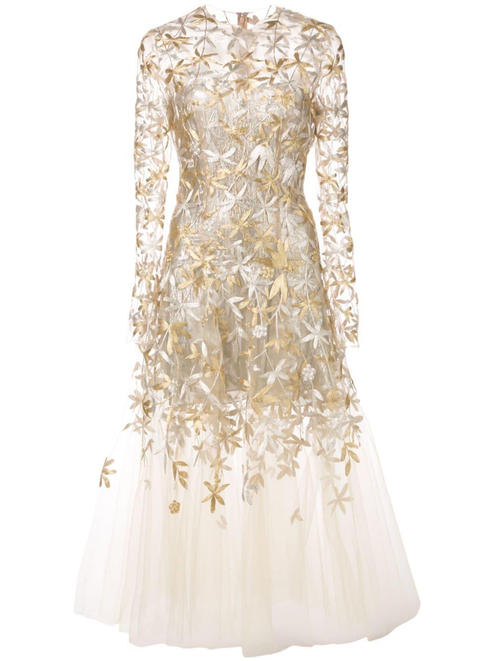 Oscar De La Renta Sheer Styled Ballet Dress We Select