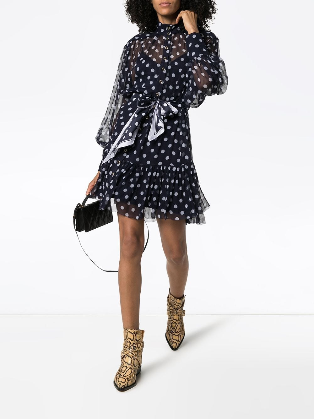 ZIMMERMANN Polka-Dot Print Dress