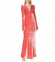 ELLERY Elena Velvet Maxi Dress