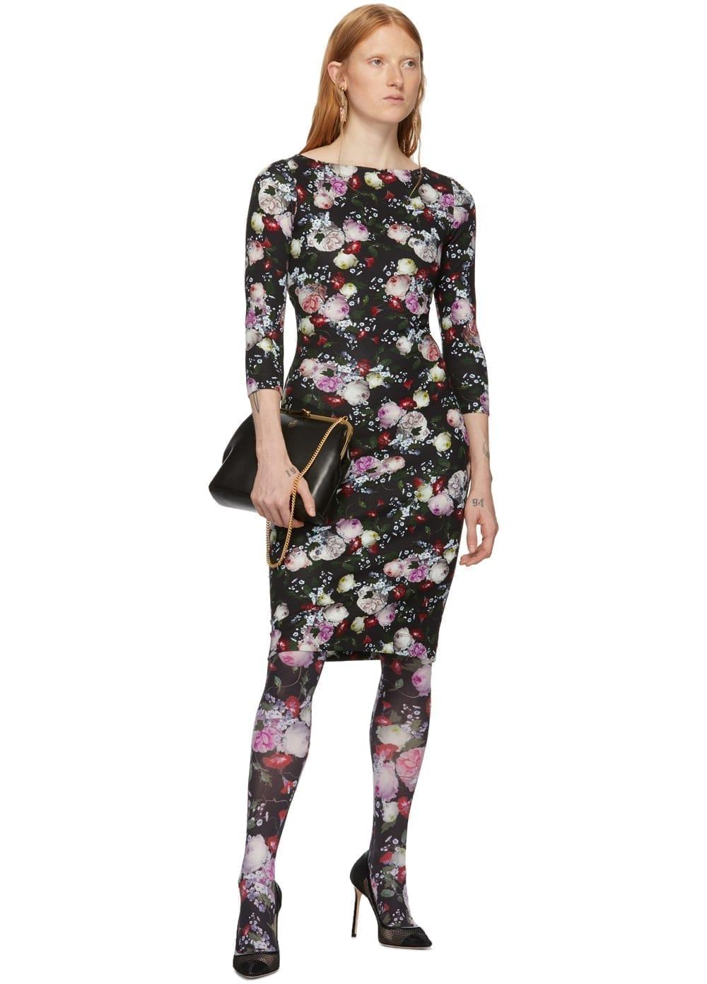 ERDEM Black Reese Dress