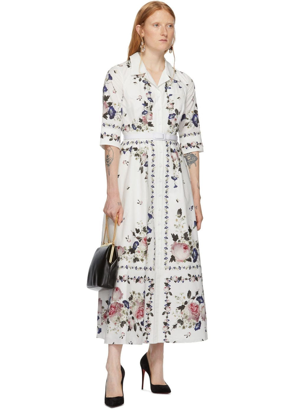 ERDEM White Kasia Dress