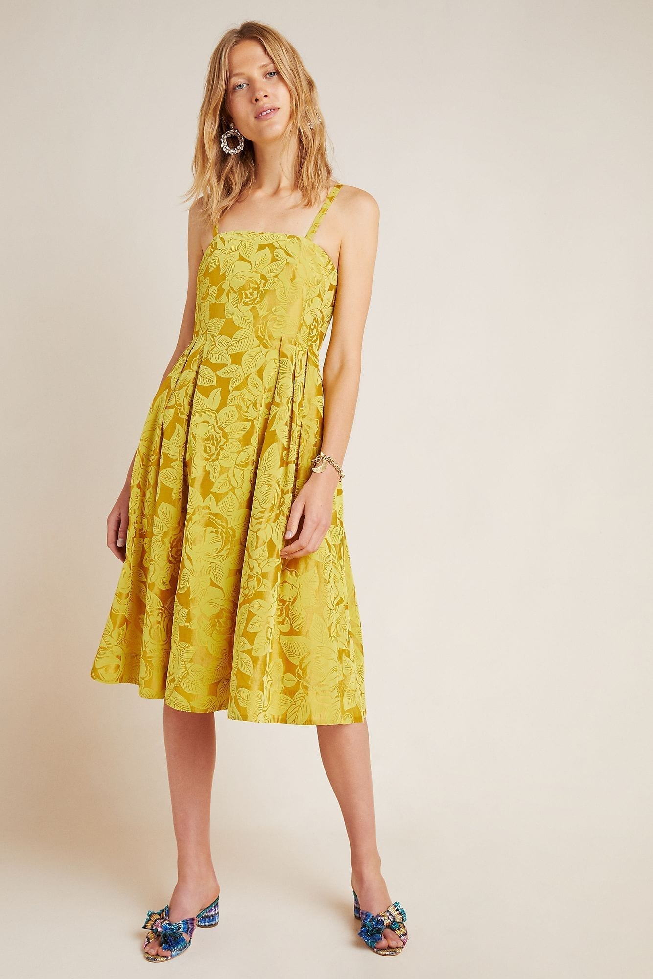 MAEVE Jonquil Midi Dress
