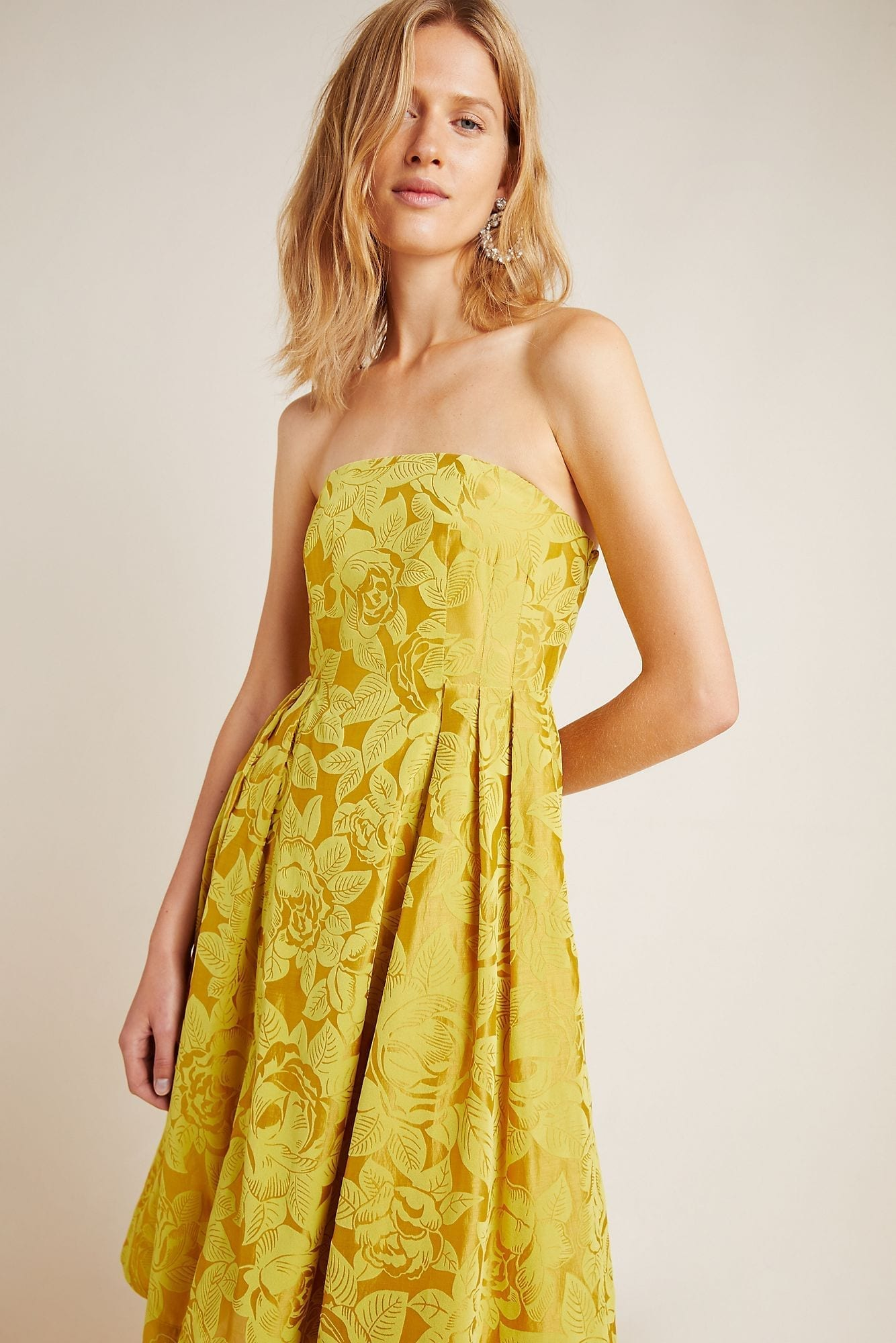 MAEVE Jonquil Midi Dress