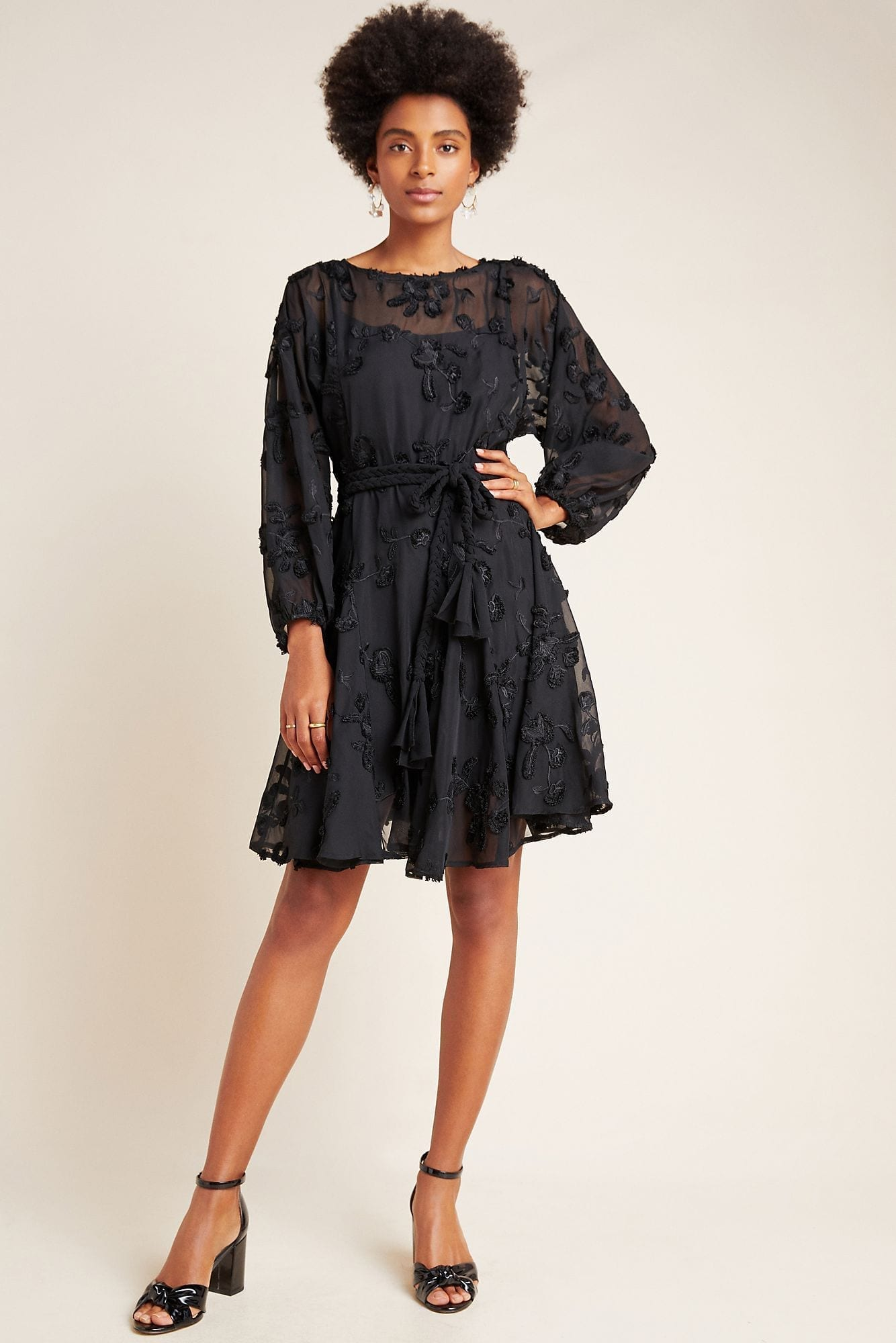 MARE MARE Amal Textured Mini Dress