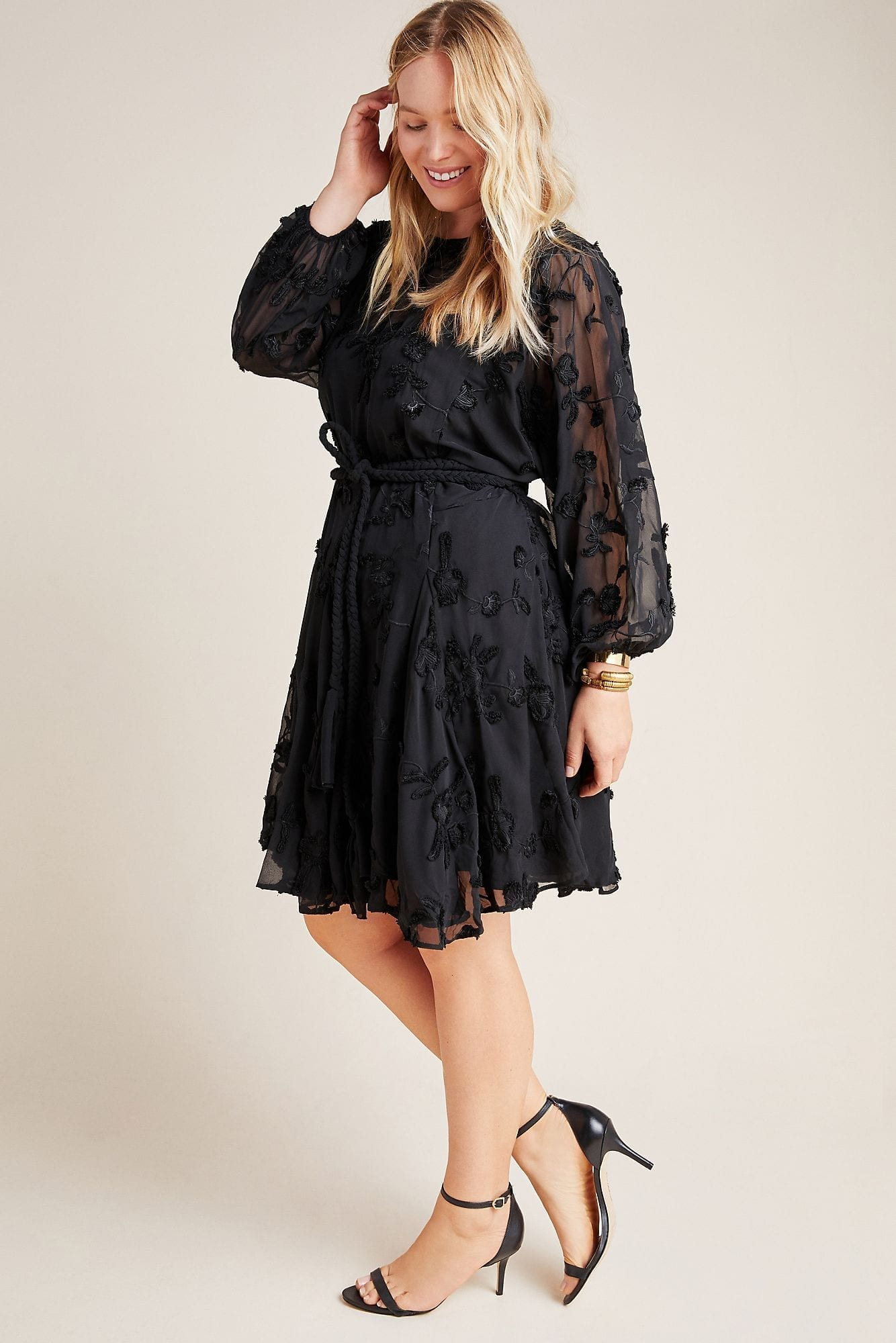 MARE MARE Amal Textured Mini Dress