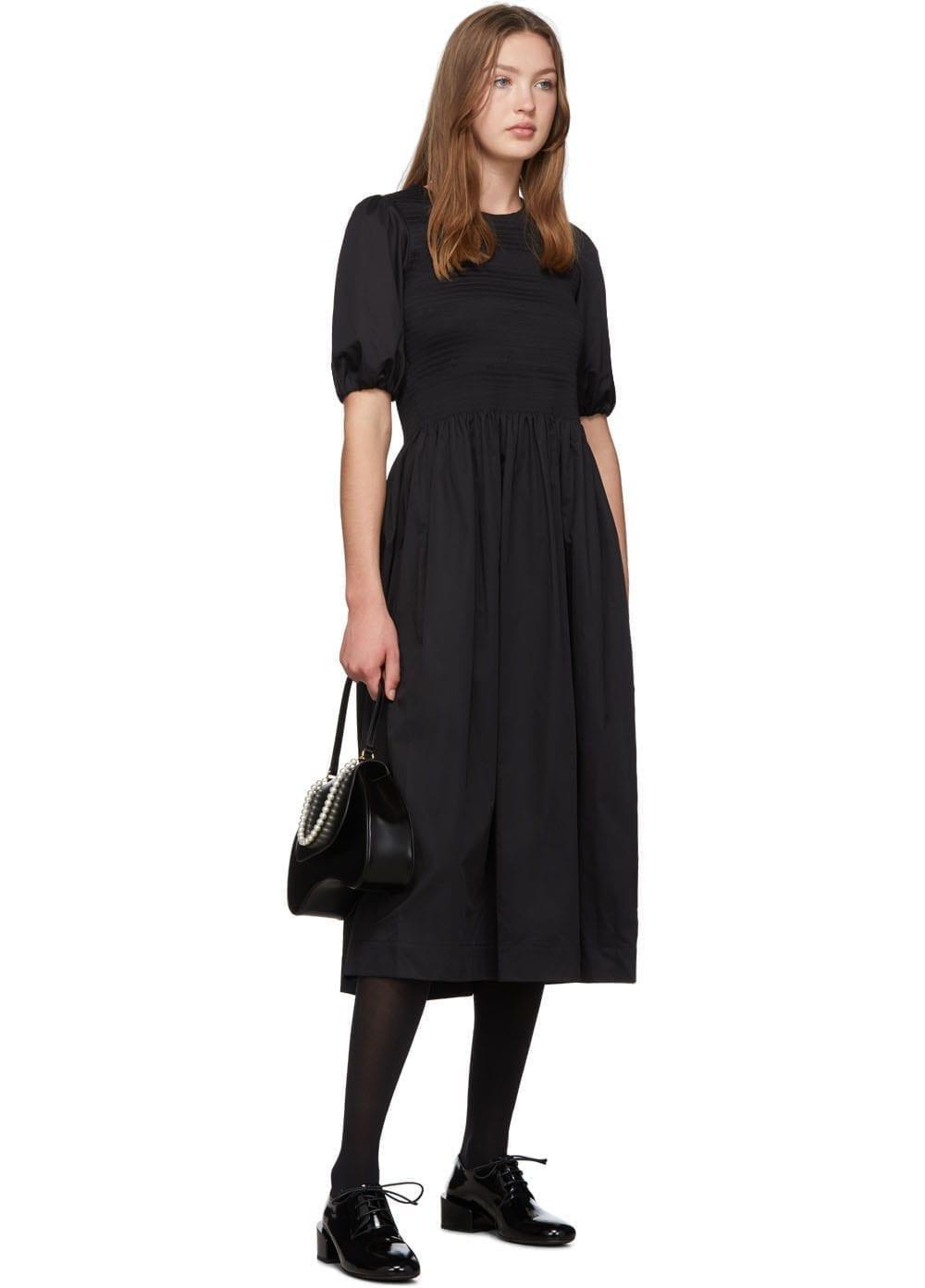 MOLLY GODDARD Black Rory Dress