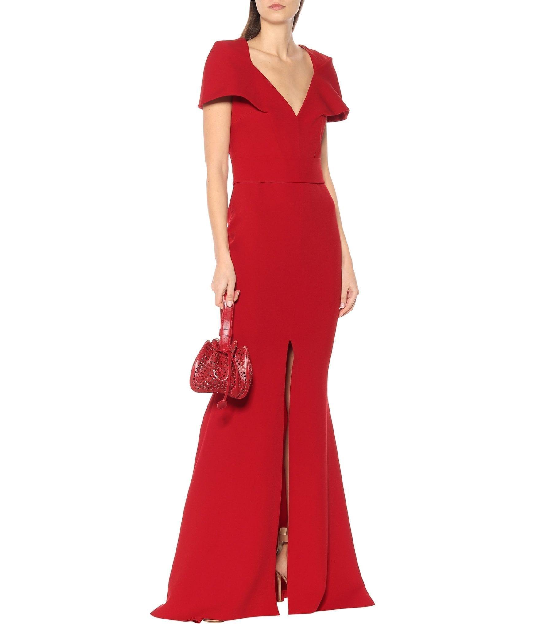 SAFIYAA Crêpe Gown