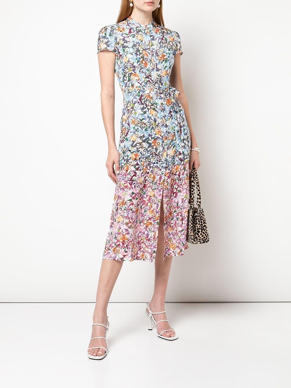 SALONI Lilian Silk Dress