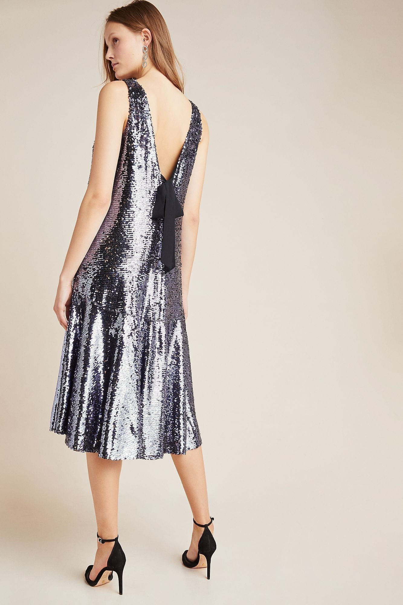 SUNDAY IN BROOKLYN Sybil Sequined Dress