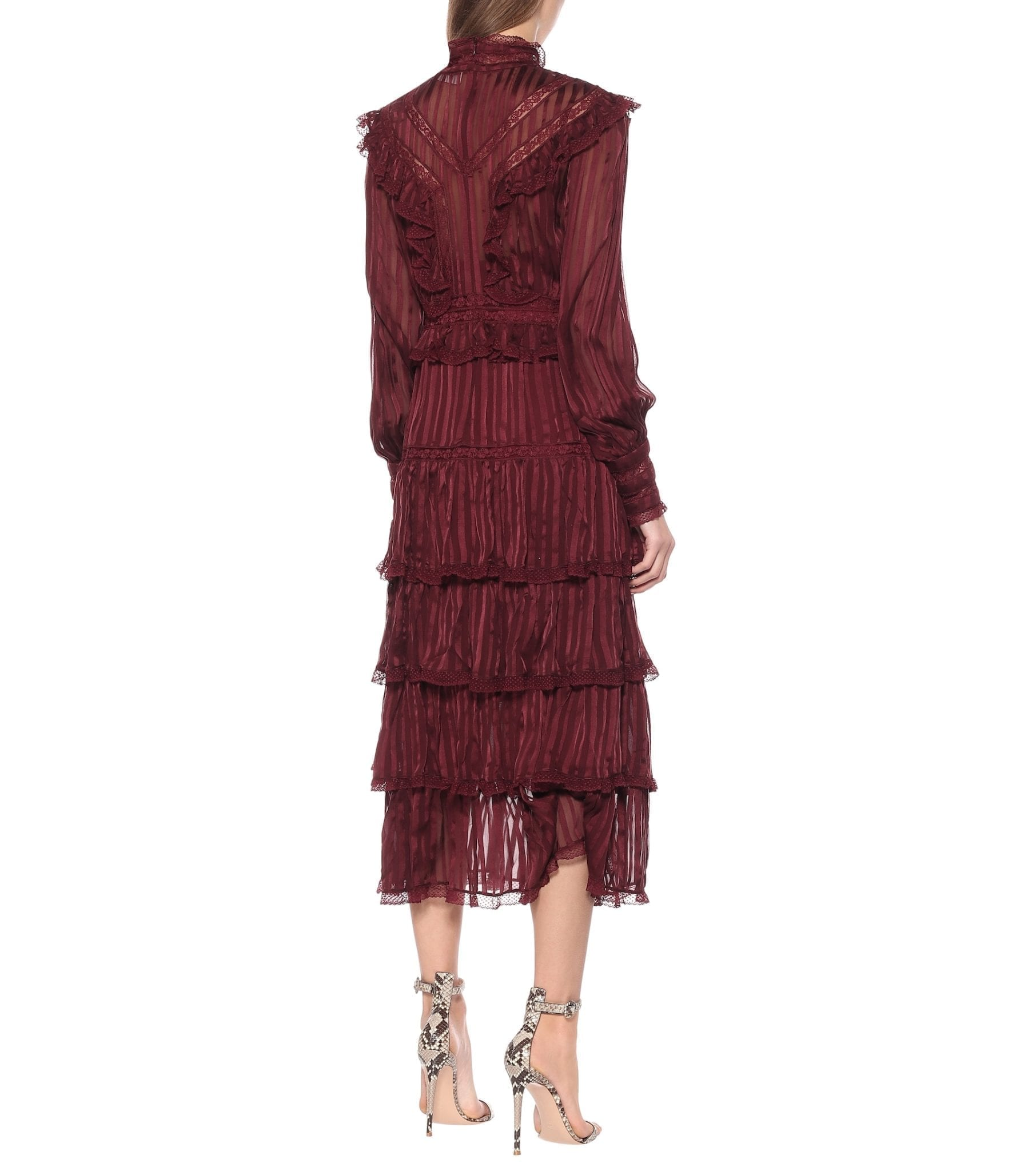 ZIMMERMANN Espionage Silk Dress