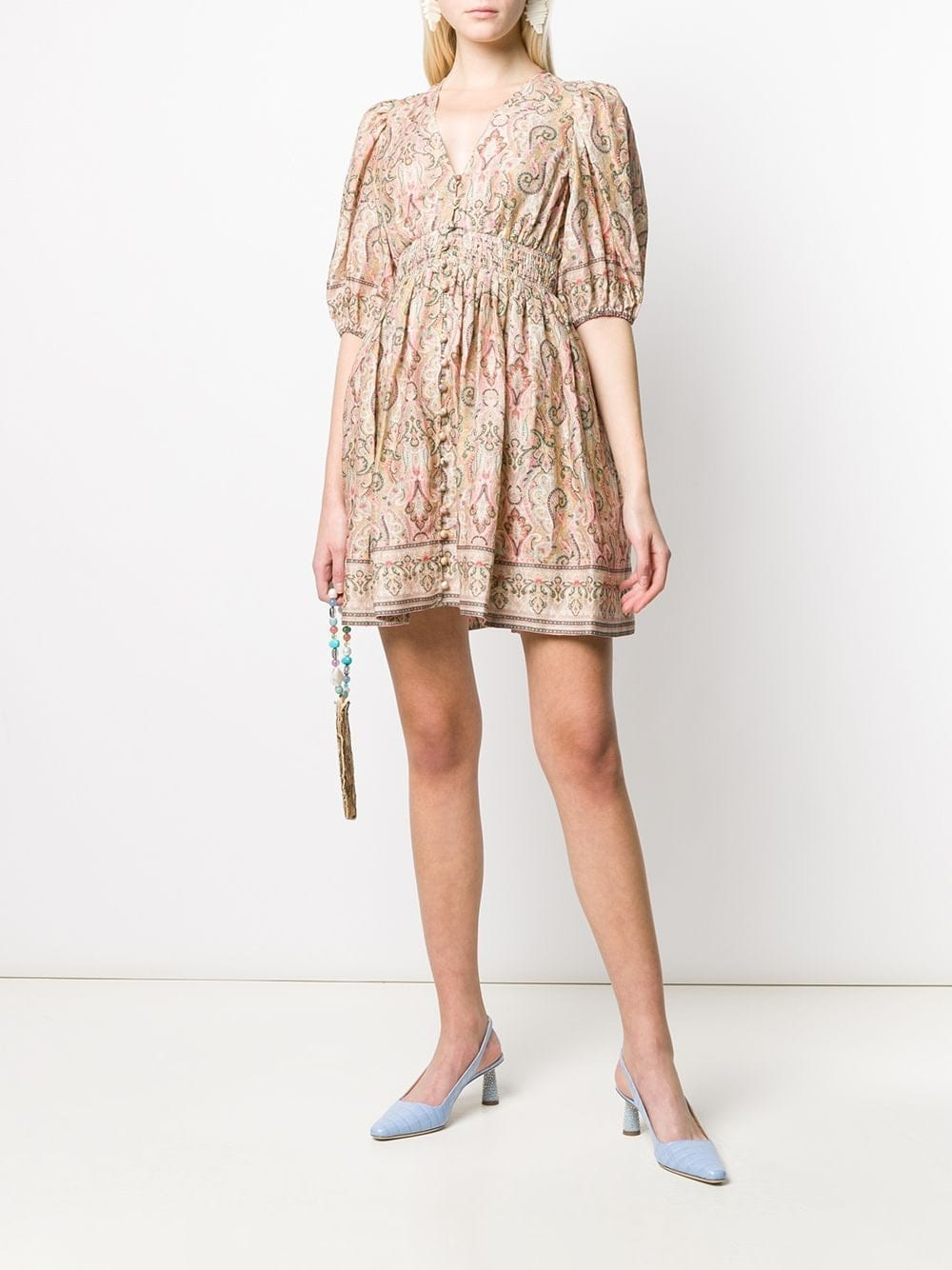 ZIMMERMANN Paisley Flared Dress