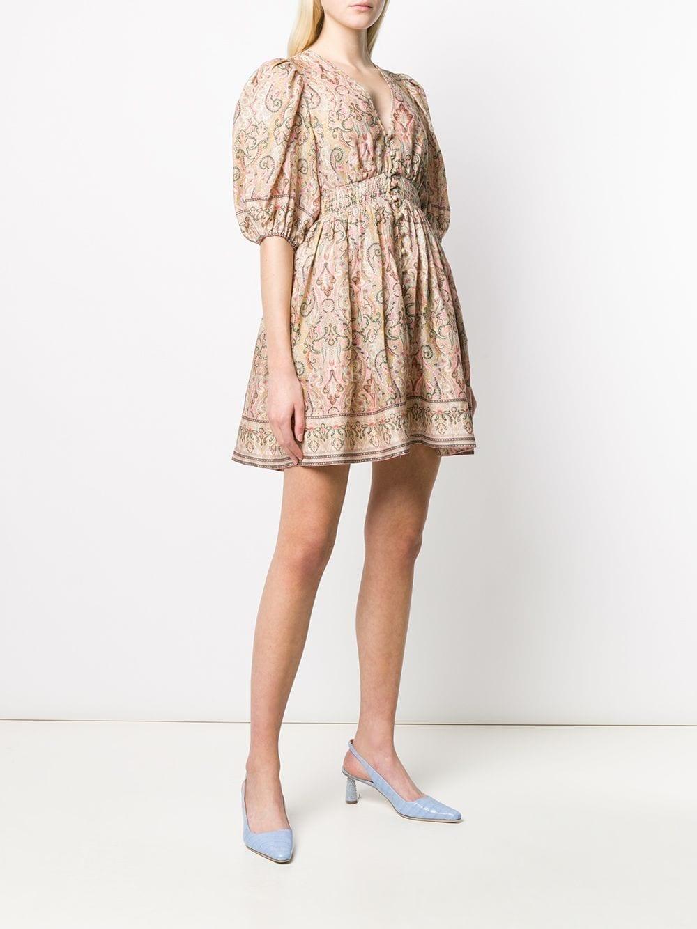 ZIMMERMANN Paisley Flared Dress
