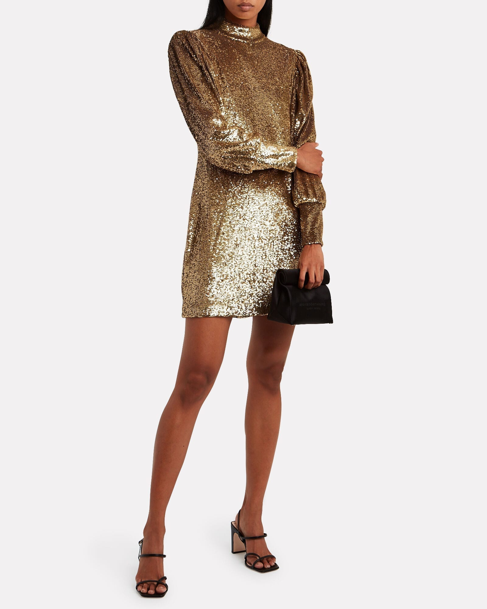 A.L.C. Christy Sequin-Embellished Shift Dress