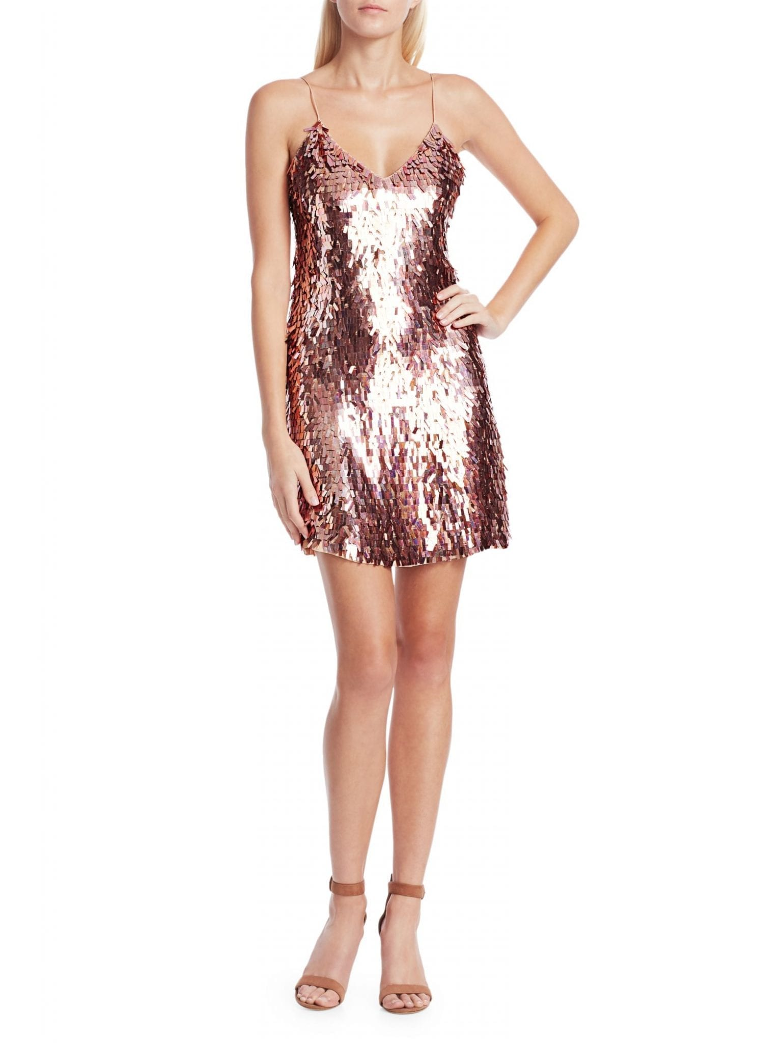 ALICE + OLIVIA Contessa Embellished Dress