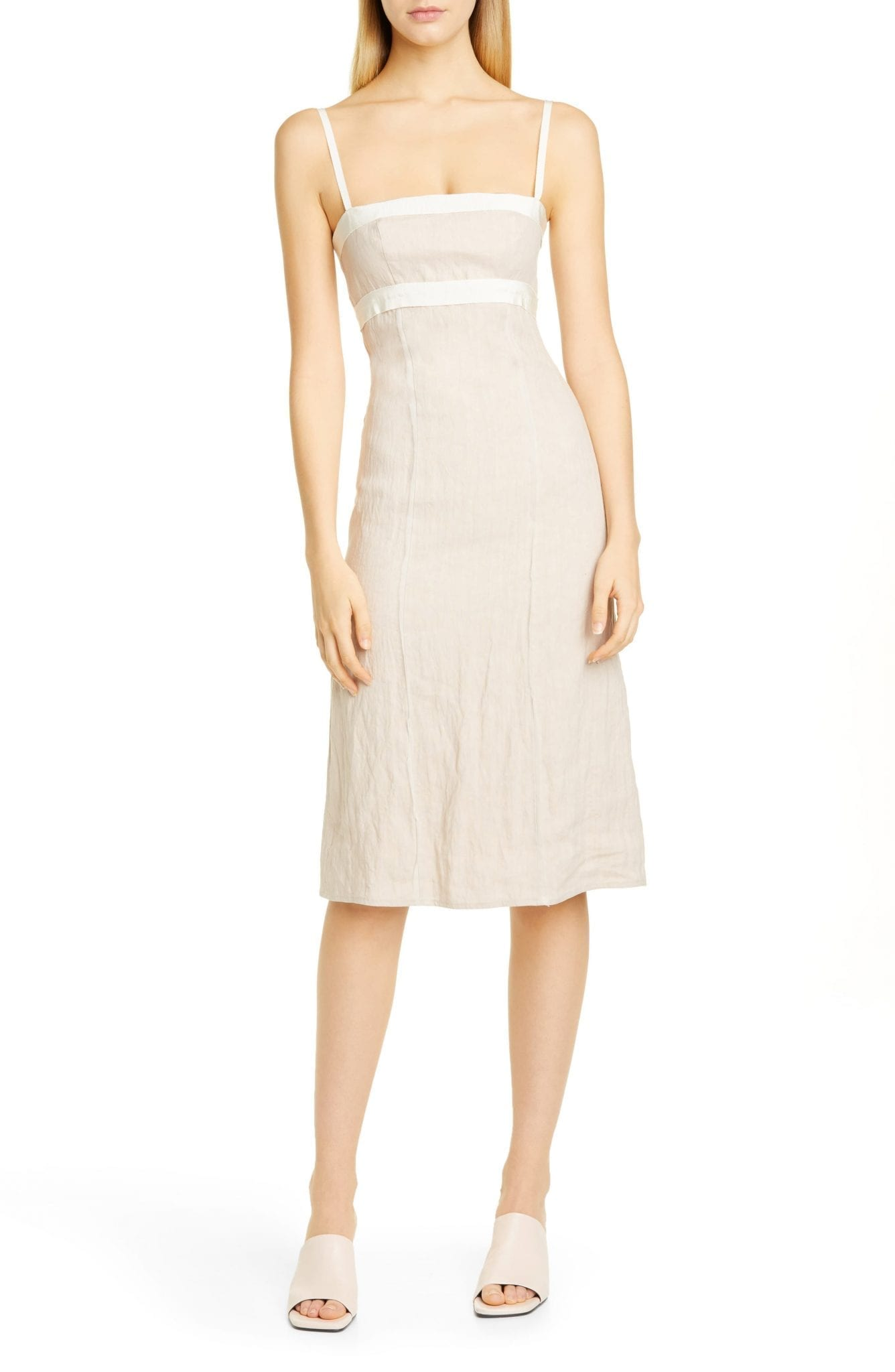 BROCK COLLECTION Grosgrain Strap Sheath Dress