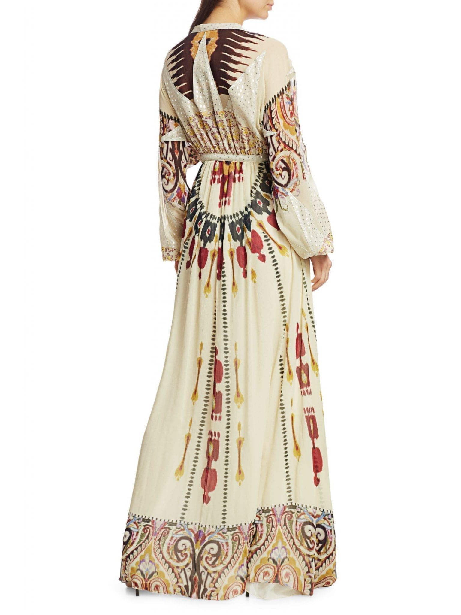 ETRO Queen of 1964 Printed Silk Gown