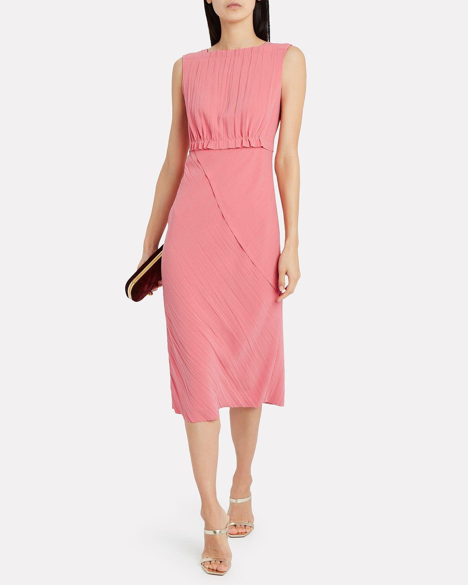 JASON WU COLLECTION Crinkle Crepe Sleeveless Dress