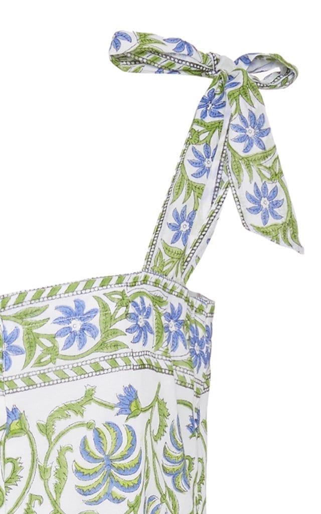 JULIET DUNN Poppy Printed Cotton Dress