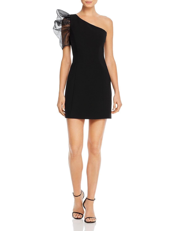LIKELY Nelia One-Shoulder Mini Dress