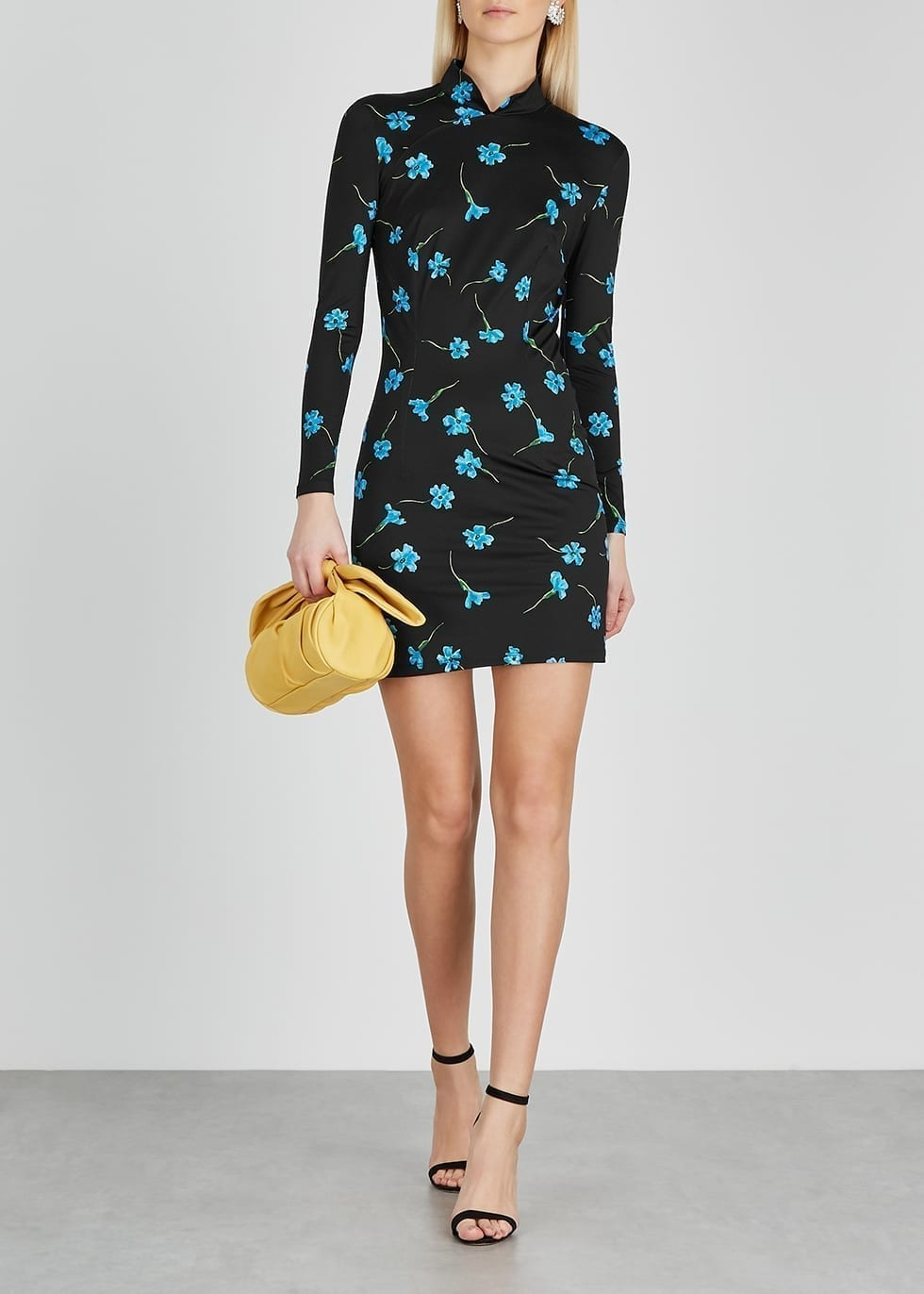 MARCIA Mirelle Floral-print Stretch-jersey Mini Dress