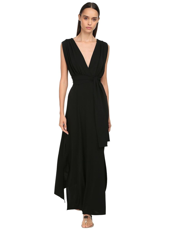MAX MARA Acetate Blend Jersey Dress