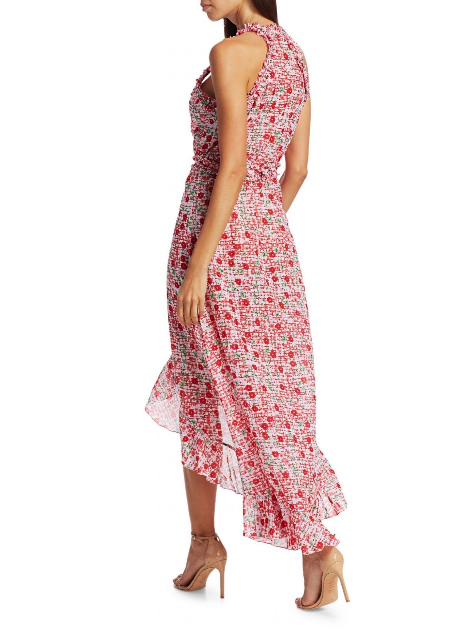 POUPETTE ST BARTH Tamara Floral Wrap Dress