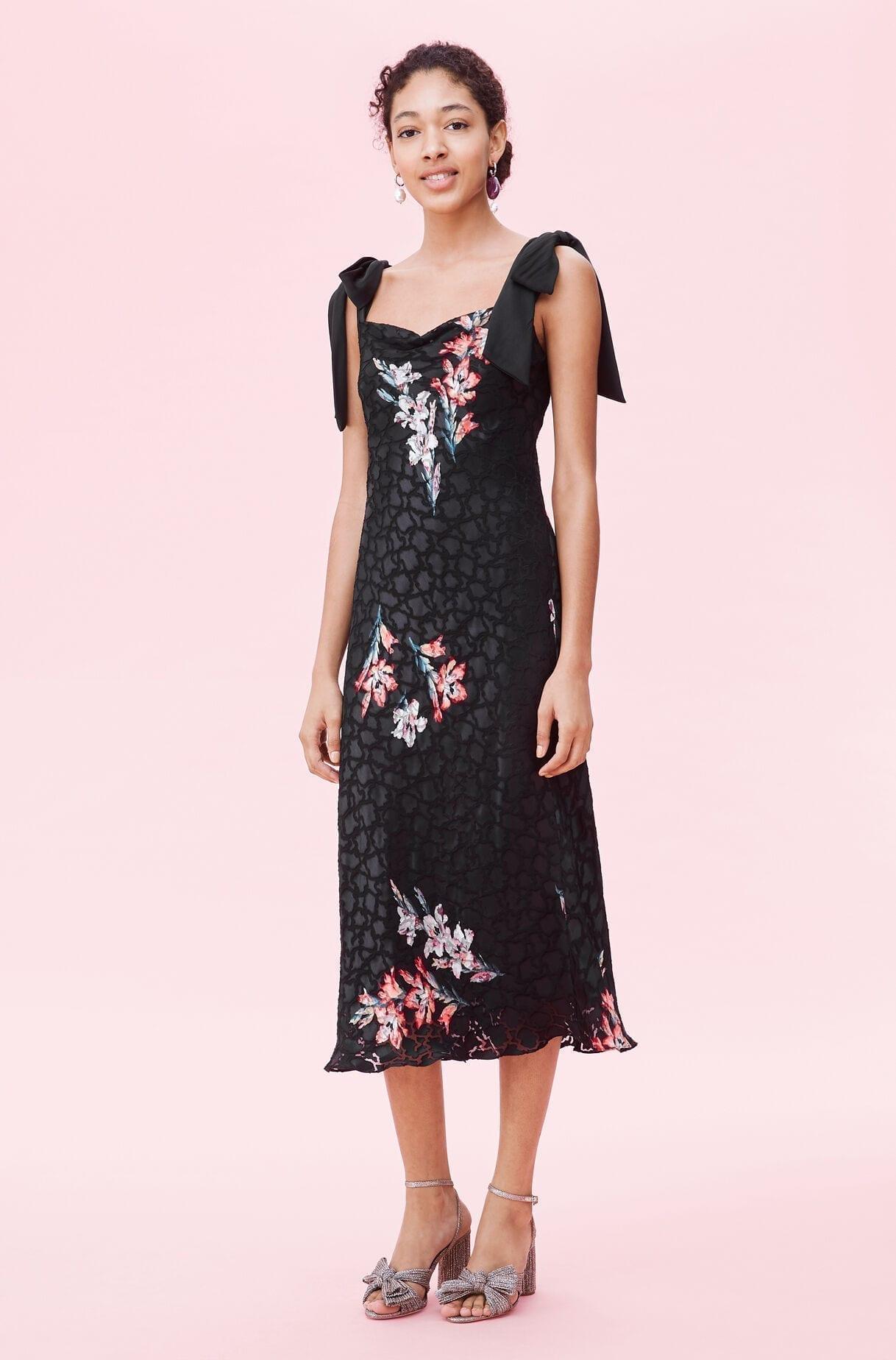 REBECKA TAYLOR Noha Floral Tank Dress