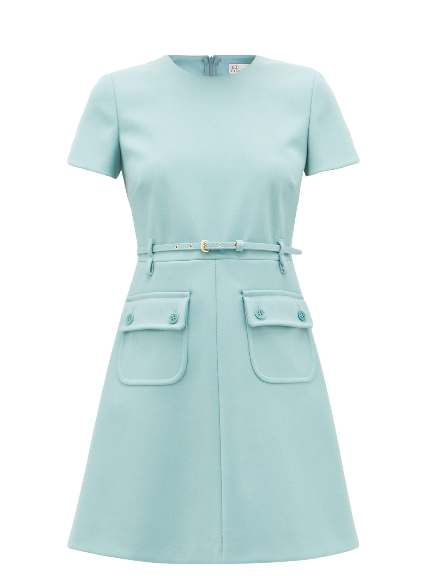 Redvalentino Belted Fit N Flare Mini Dress We Select Dresses