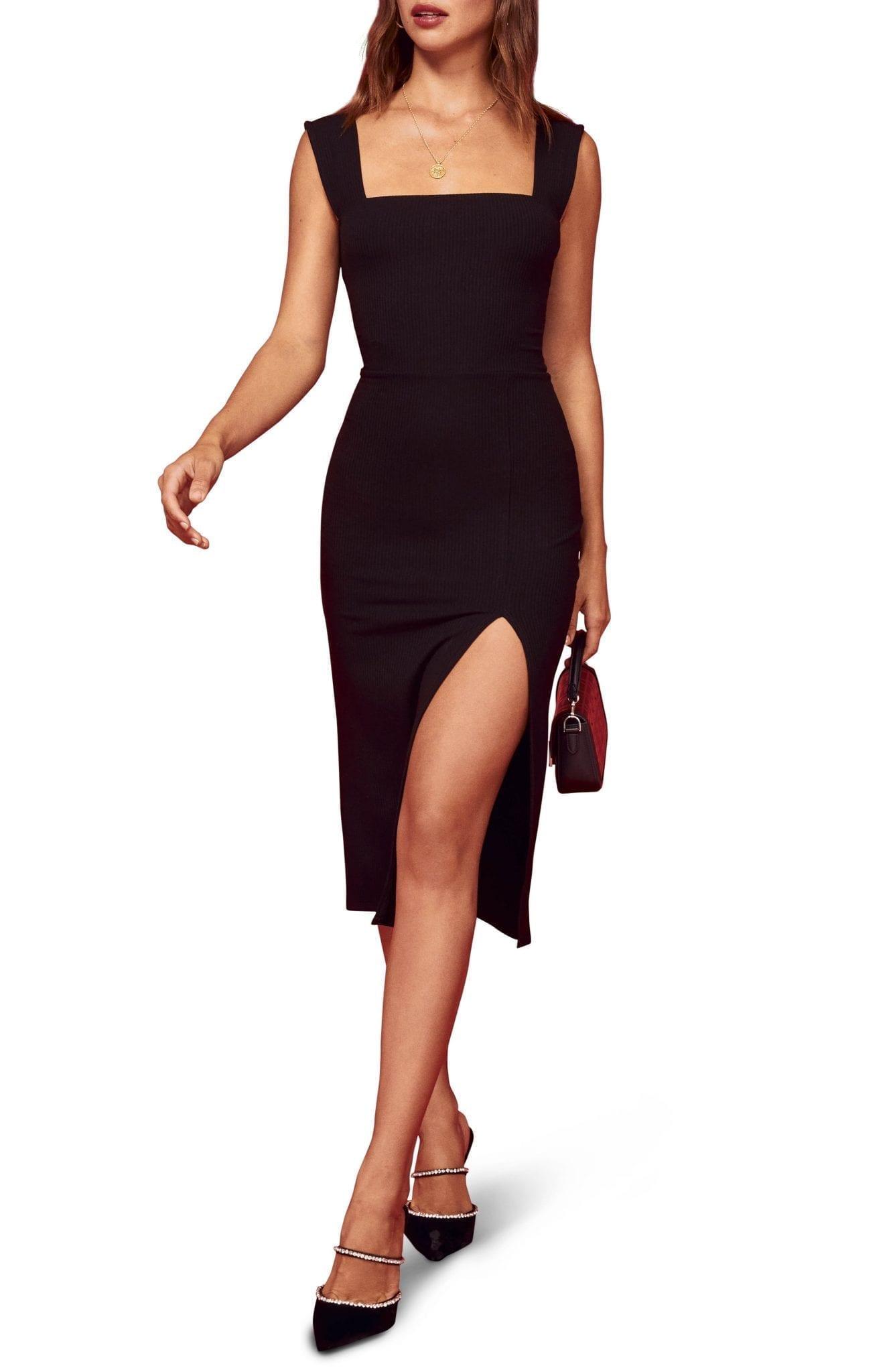 REFORMATION Cassi Sheath Dress