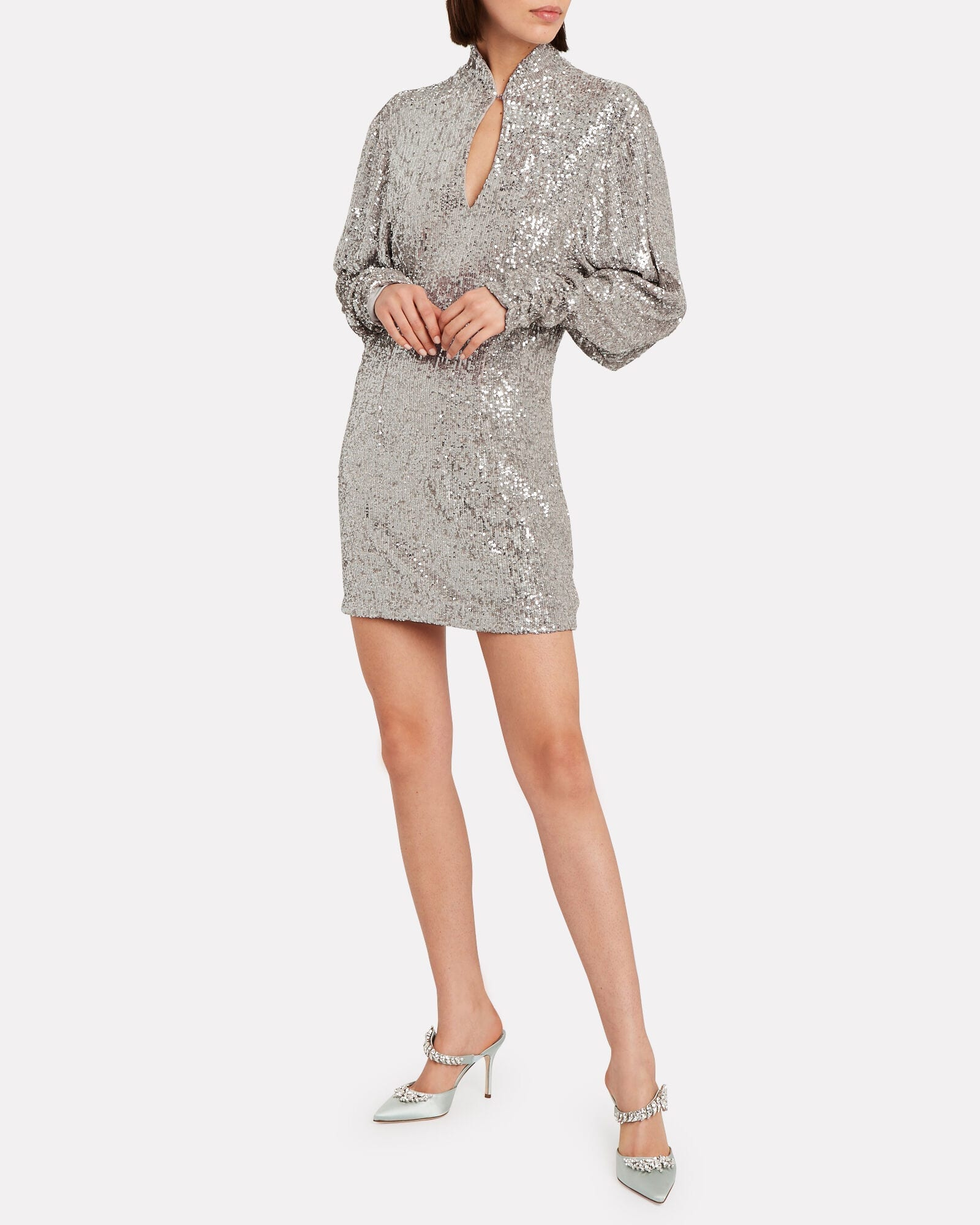 RONNY KOBO Lauper Sequin Mini Dress