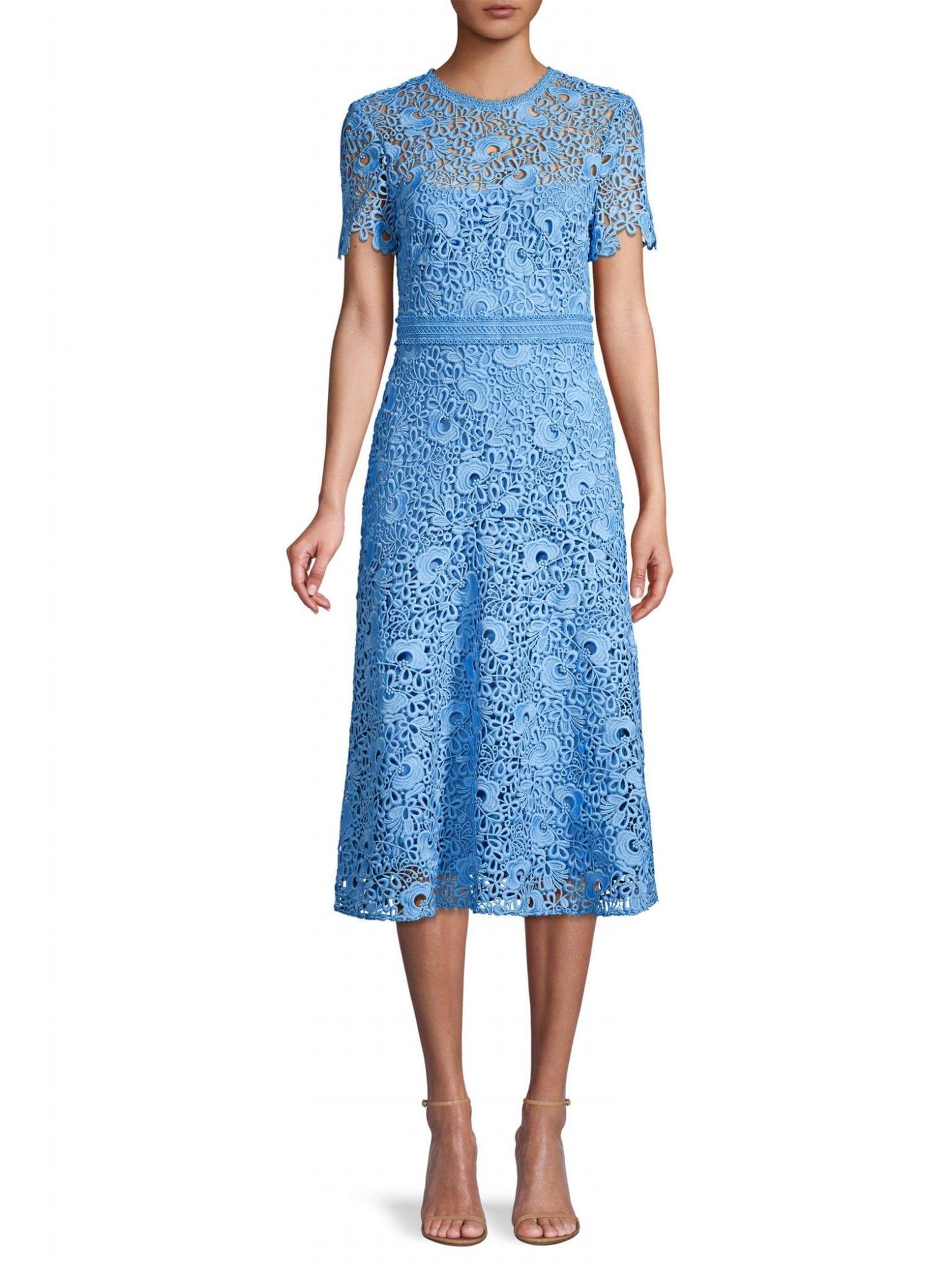 SHOSHANNA Cora Lace A-Line Dress