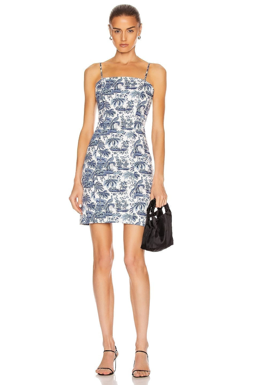 STAUD Basset Dress