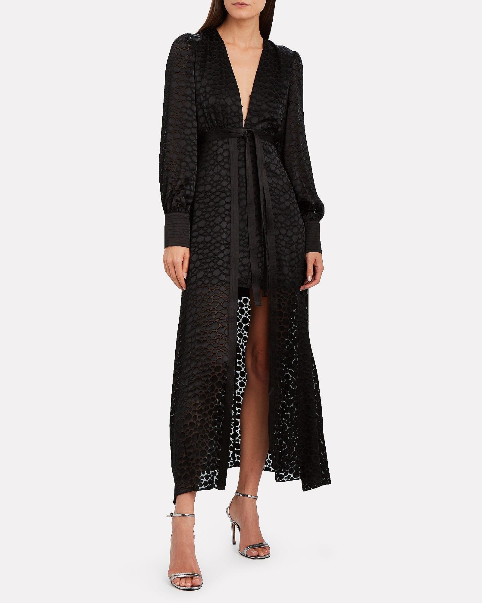 ALEXIS Cordelia Wrap Midi Dress
