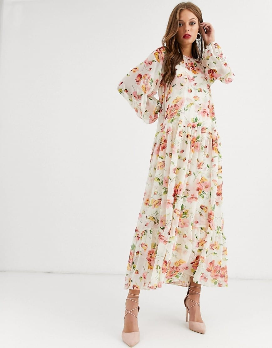 ASOS EDITION Oversized Maxi Dress