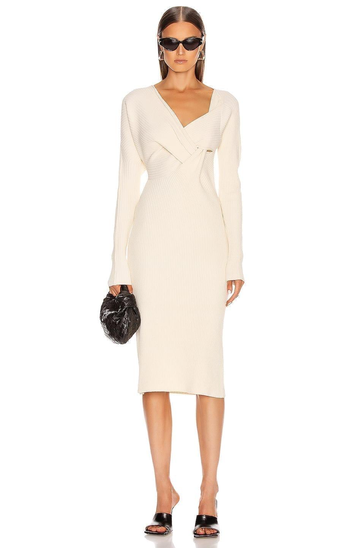 BOTTEGA VENETA Knit Midi Dress