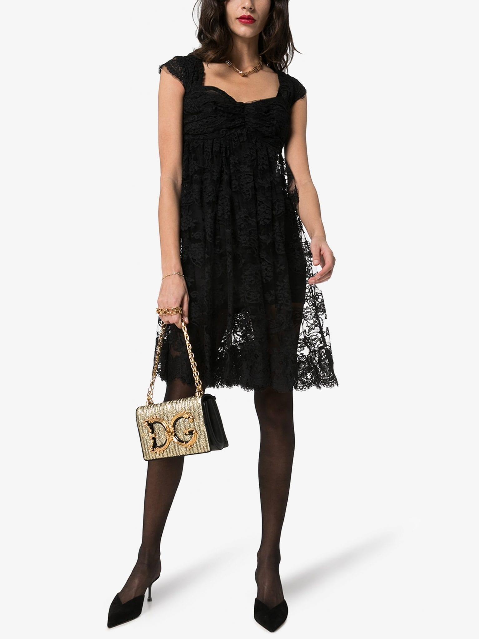 DOLCE & GABBANA Lined Lace Dress