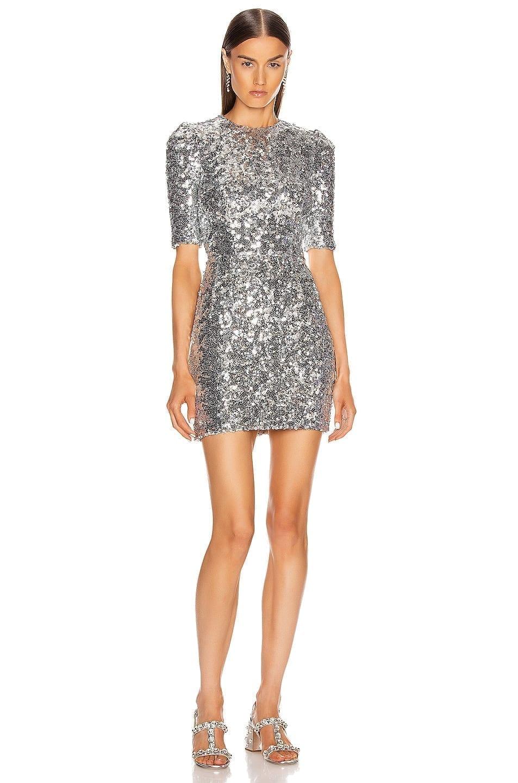 DOLCE & GABBANA Sequin Mini Dress