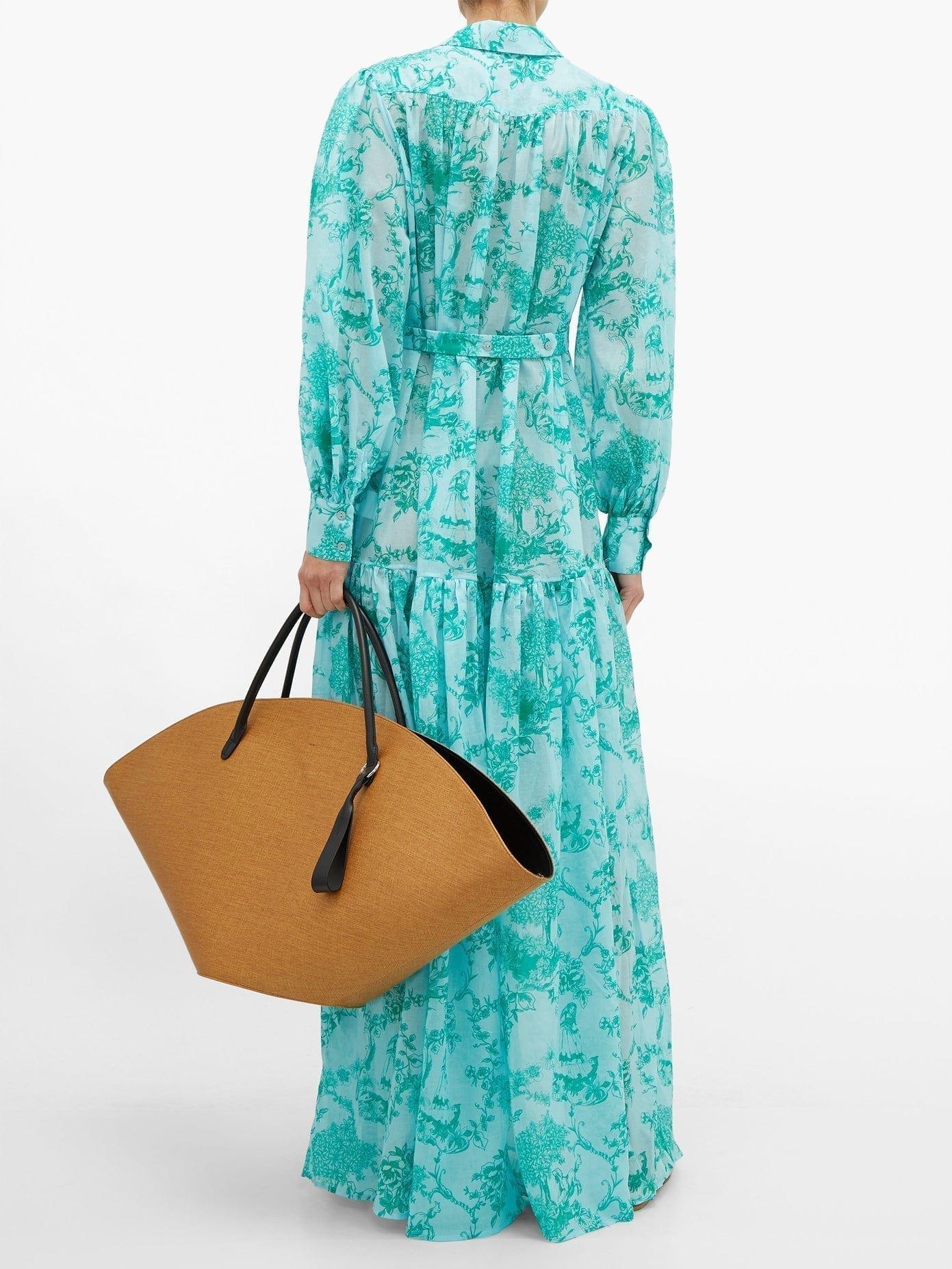 EVI GRINTELA Delphine Floral-print Cotton Dress