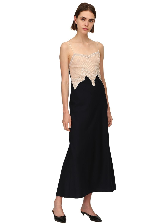 GABRIELA HEARST Adolphine Silk & Cashmere Dress