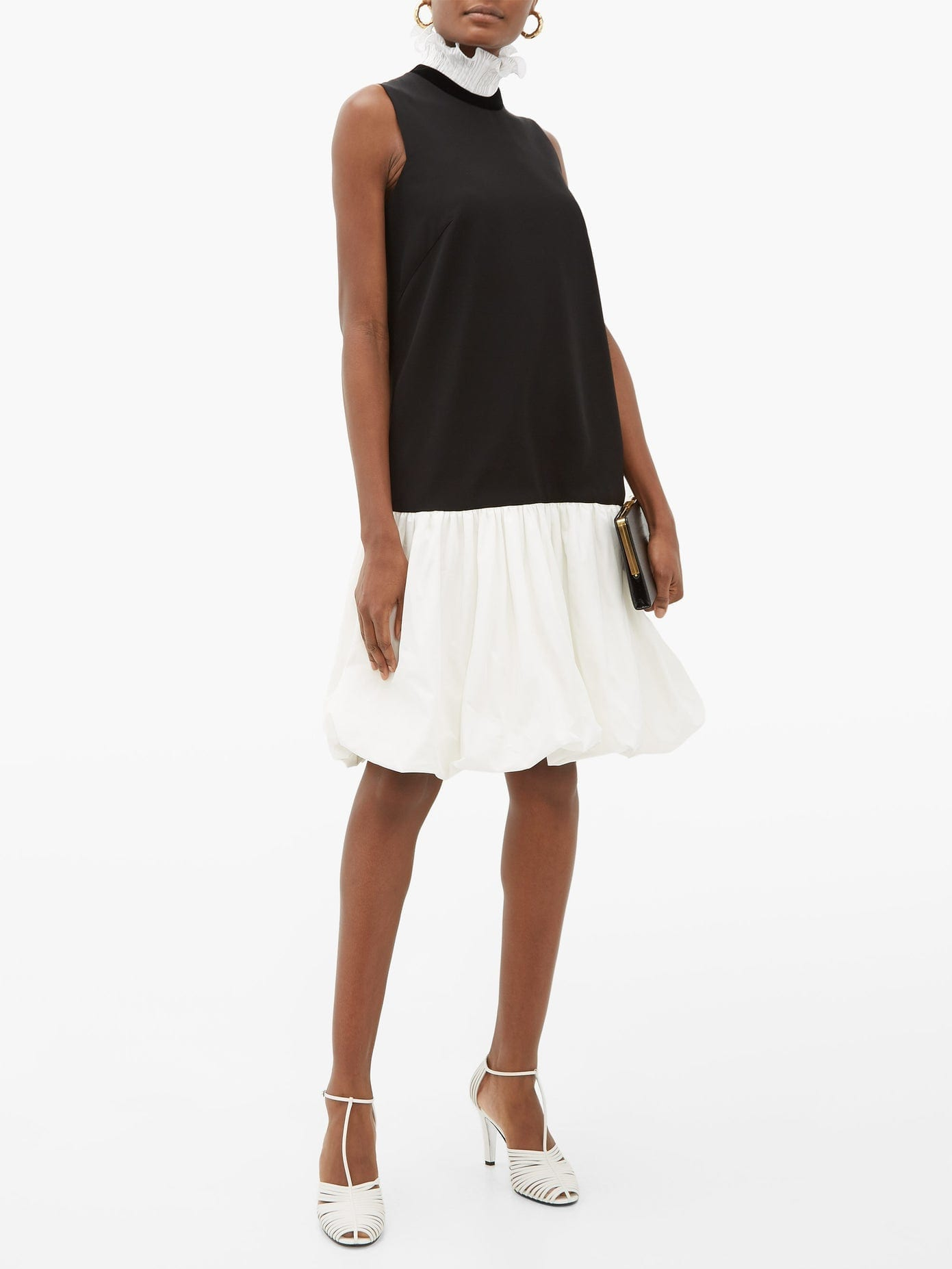 GIVENCHY Drop-Waisted Bubble-Hem Dress