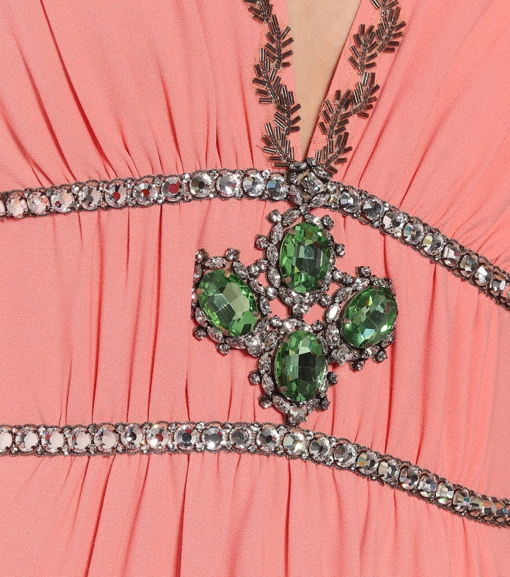 GUCCI Embellished Jersey Gown