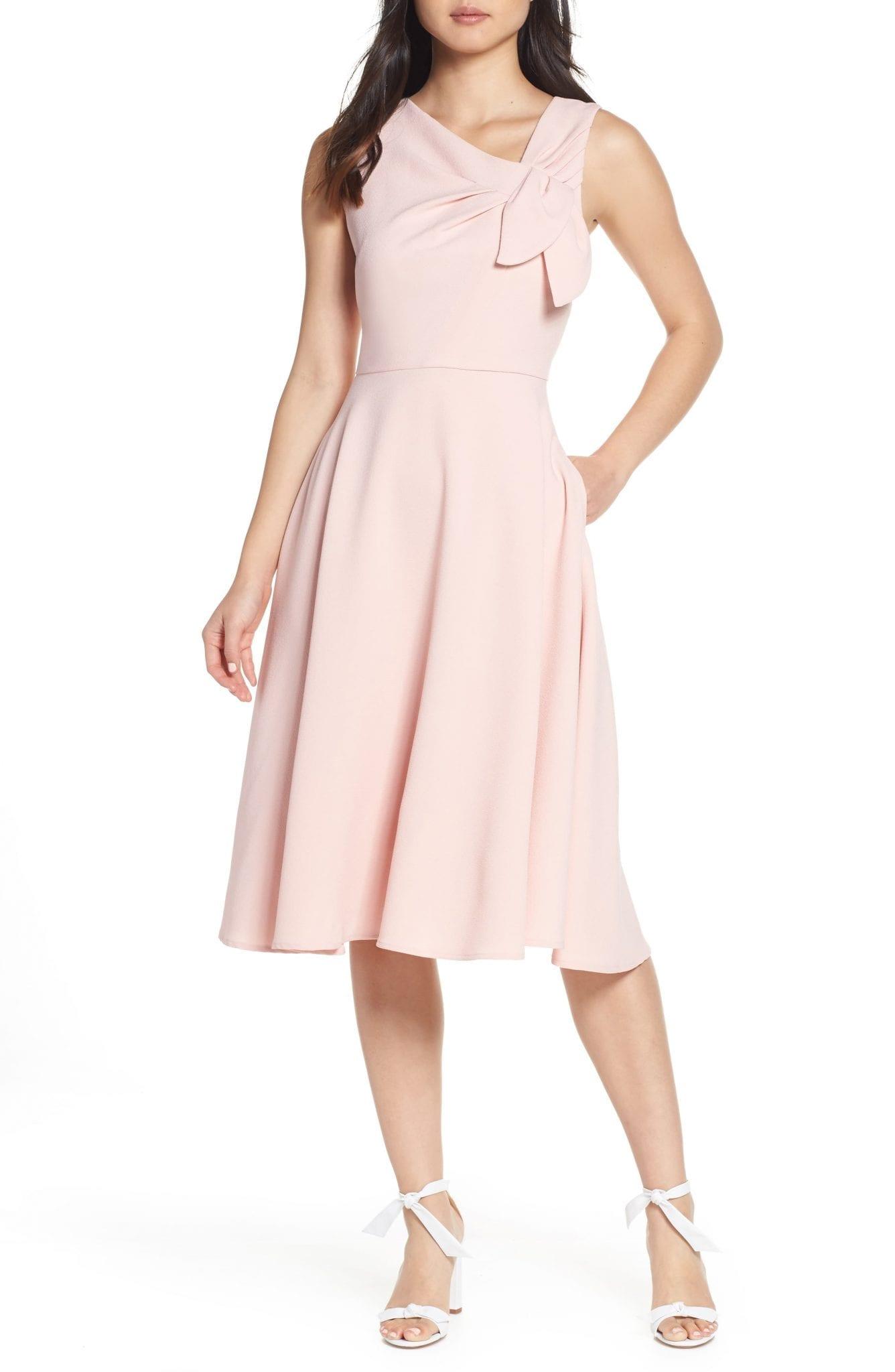HARPER ROSE Sleeveless Fit & Flare Dress