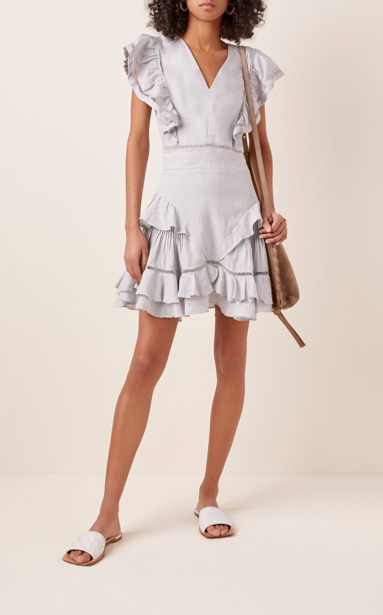 ISABEL MARANT ÉTOILE Audrey Linen Dress
