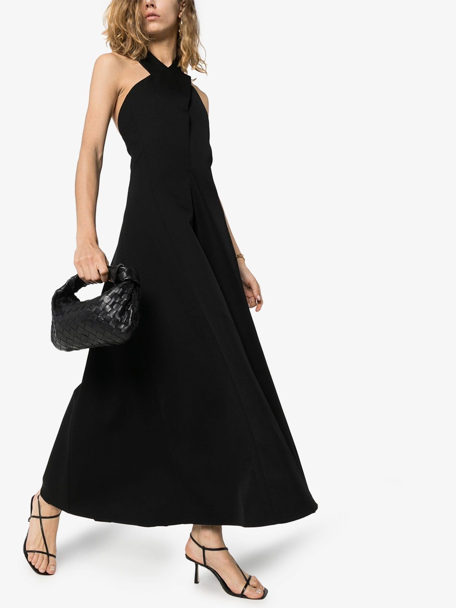 JIL SANDER Melinda Wool Halterneck Dress